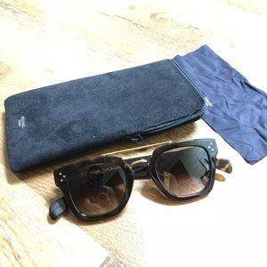 Celine Havana Bridge Sunglasses